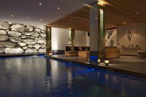 deluxe chalet with indoor pool in verbier