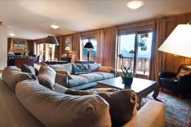 Chalet Skye - Living Area