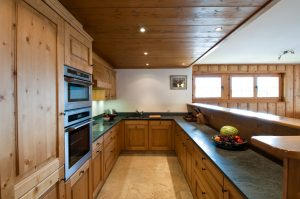 chalet skye kitchen