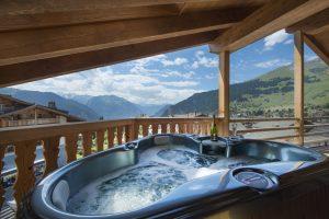 No. 5 Penthouse Hot Tub