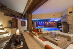 verbier chalet with hot tub