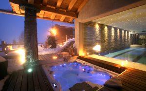 Chalet Spa Hot Tub