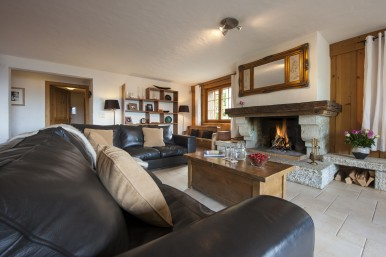 Chalet Max Living Area