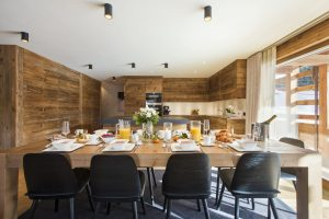 chalet agate dining room