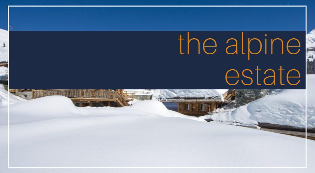 the alpine estate luxury rentals