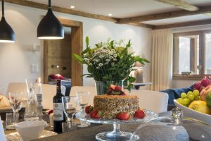 Chalet Apartment Saana Dining