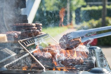 barbecue in verbier