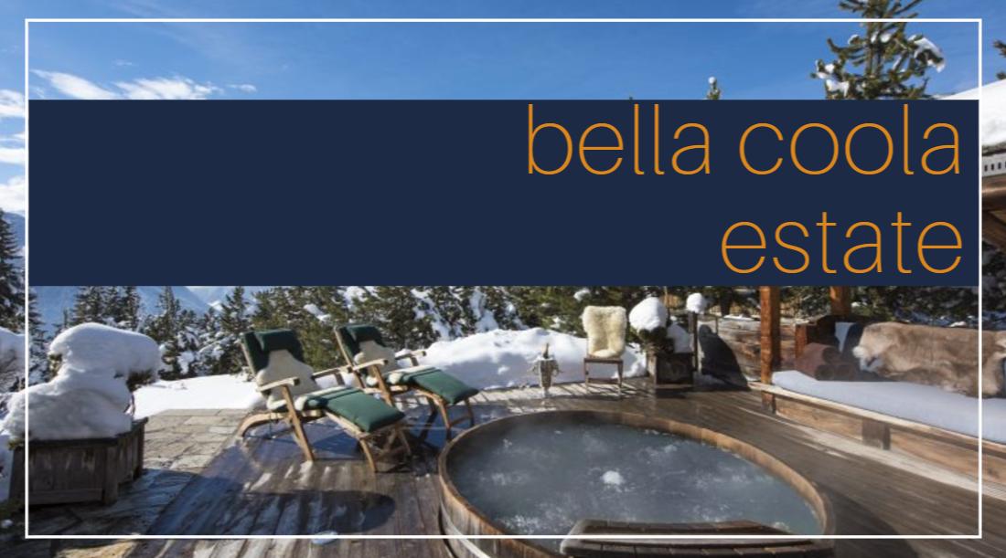 bella coola estate luxury rentals