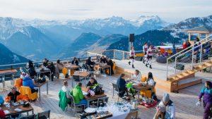 Verbier Mountain Restaurants