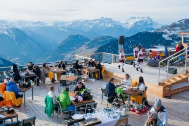 Verbier Mountain Restaurants