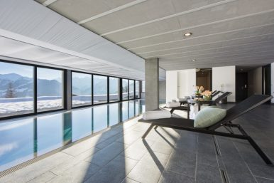 Verbier Chalet Swimming Pool