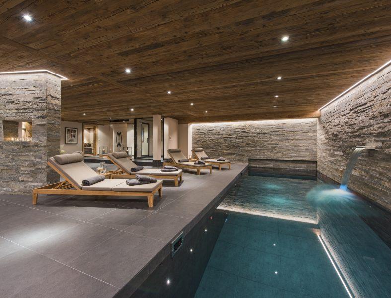 Verbier Chalet Swimming Pool