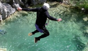 verbier canyoning