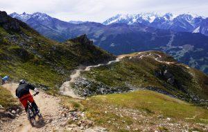 verbier mountain biking