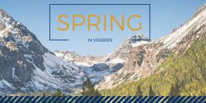 spring holiday in verbier