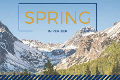 spring holiday in verbier