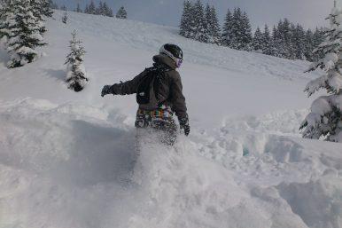 Winter in verbier